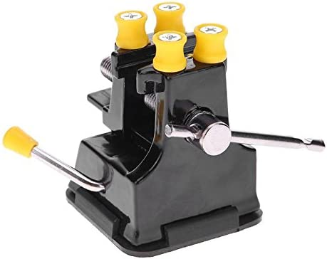 DIY Mini Bench Suction Clamp Hand Tool Woodworking Crafts Fixed Tool Grip Vise