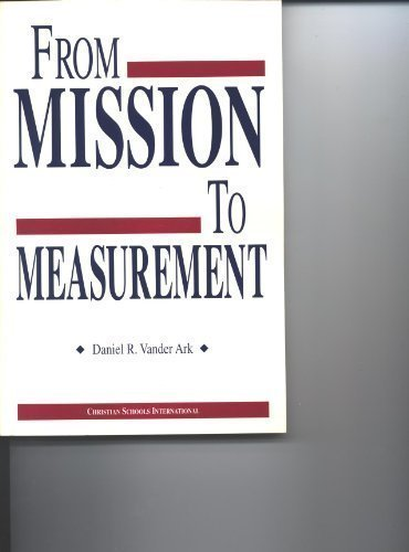 From mission to measurement pdf