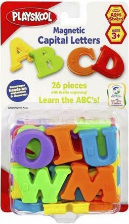 Playskool Magnetic Capital Letters