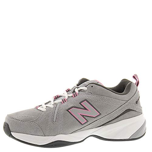 New Balance Women's 608v4 Suede,Grey/Pink,US 6.5 2A by New Balance (Image #3)
