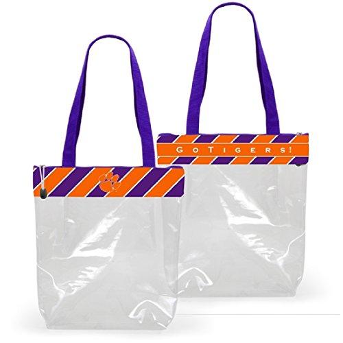 Desden Clemson Tigers Clear Gameday Stadium Tote Bag by Desden