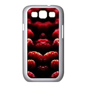 Raspberry Watercolor style Cover Samsung Galaxy S3 I9300 Case
