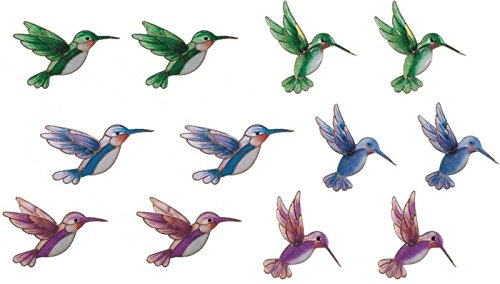 StealStreet Refrigerator Fridge Magnet Collection Hummingbird Decoration (Set of 12) by StealStreet