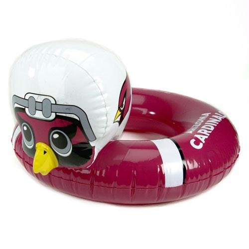 NFL 3-6 Years Inflatable Mascot Inner Tube NFL Team: Arizona - Pool Nfl Team Floats