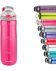 Contigo Ashland Autospout Water Bottle with Flip Straw, Large BPA Free Drinking Bottle, Sports Flask, Leakproof Gym Bottle, Ideal for Sports, Bike, Running, Hiking