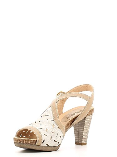 Igi&co 5834 Sandalo tacco Donna Platino 35