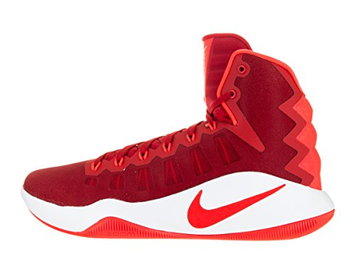 Nike Mens Hyperdunk 2016 Basketskor Universitet Röd / Ljus Crimson / Vit