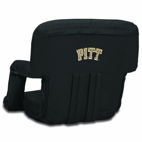 University Pittsburgh Panthers Basketball (NCAA Pittsburgh Panthers Ventura Portable Reclining Seat, Black)