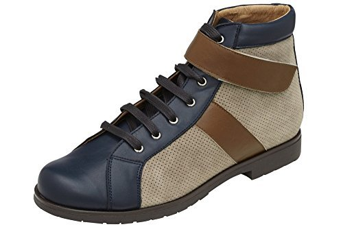 Best Lace Up Schnürer Blau Flats Women's Connections Braun Blue q1FvPO