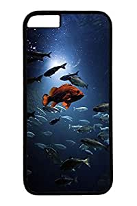 iPhone 6 Case, Personalized Unique Design Covers for iPhone 6 PC Black Case - Ocean