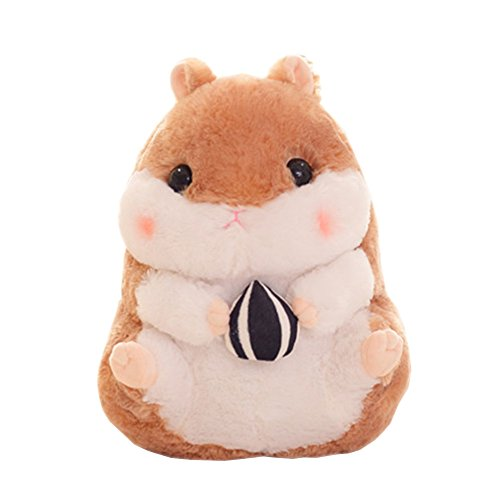 Gardening Spring-Plush Toys Creative Cute Hamster Doll Embra