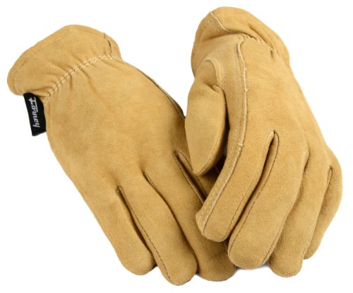 - Forney 53119 Deerskin Leather Driver Suede Lined Women's Gloves, Small