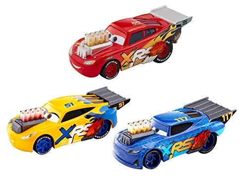 Disney Pixar Cars XRS Drag Racing 3-Pack (Die Cast Drag Race Cars)