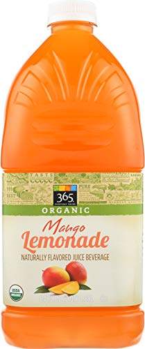 365 Everyday Value, Organic Naturally Flavored Juice Beverage, Mango Lemonade, 64 fl - Market Mangos