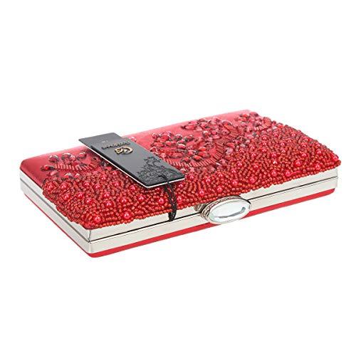 La Boda Bolso Perlas Red Bonjanvye Noche De 48zAOtq7