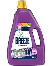 Breeze Liquid Detergent, Colour Care, 3.8kg