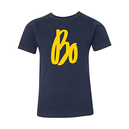UGP Campus Apparel BO Schembechler BO Sig Premium Youth T Shirt - Small - Midnight Navy