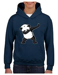 Xekia Dancing Panda Birthday Gifts Hoodie For Girls - Boys Youth Kids