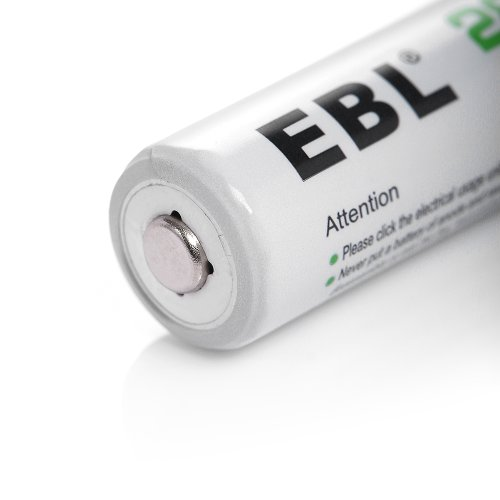 EBL AA Rechargeable Batteries Ni-MH 2800mAh, 100 Counts by EBL (Image #5)
