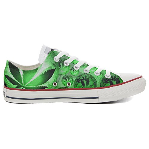 Converse Customized Adulte - chaussures coutume (produit artisanal) Ganjafriend