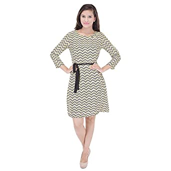 SAARVI FASHION Women's Fit and Flare Dress Women's Dresses