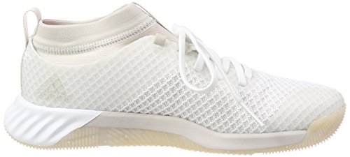 adidas Damen Crazytrain Pro 3.0 Fitnessschuhe Weiß (Footwear White/Chalk Pearl/Hi-Res Orange)