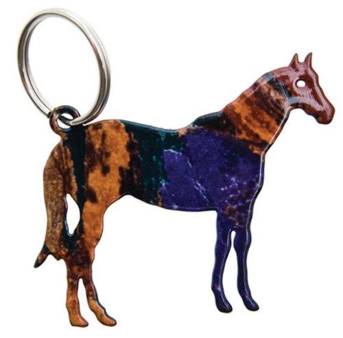 "Lazart® 2"" Horse Key Ring with LAZARTfusion finish from Lazart"