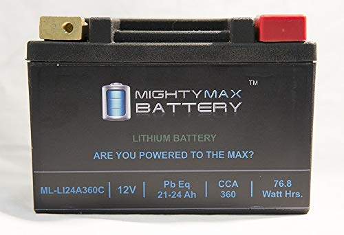 (Mighty Max Battery LiFePO4 12V 20-24ah Battery for Ski-Doo 1200 Renegade, GSX 2009-2012 Brand Product)