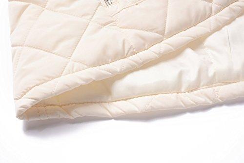 Ultraleggeri Miss Vestiti Bianco Giacche Donna Dritto Collare Moly Panciotto ggxUpwFHq