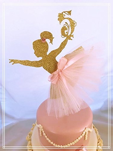 amazon com ballerina cake topper birthday party handmade