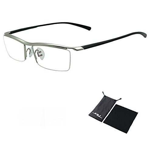 Sports Computer Glasses Readers Reading Video Gaming Glasses of Anti Blue Light Eye Strain Men Tr90 Titanium Myopia Glasses Frame Slip-resistant Eyeglasses - Prescribed Glasses