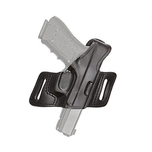 (Aker Leather 132 White Lightning Belt Slide Holster for Smith & Wesson M&P Series, Right)