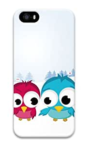 Christmas Birds 3D Case free iphone 5S case for Apple iPhone 5/5S