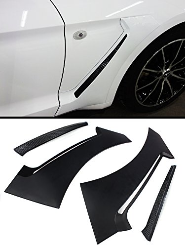 Fits for 2015-2018 Ford Mustang GT Style Front Fender Side Panel Door Side Scoops Vents