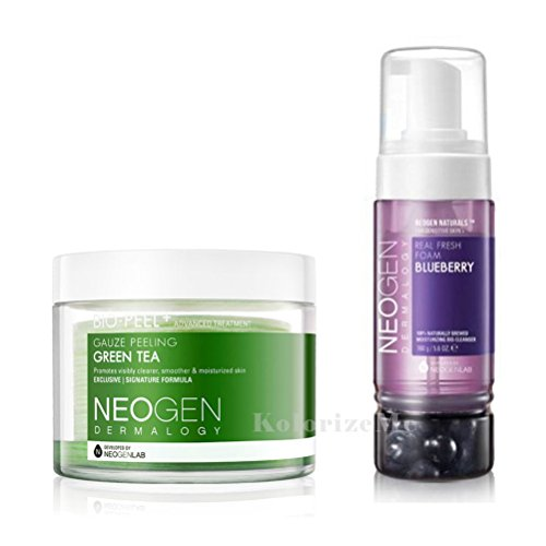 Neogen-Dermalogy-2017-New-Version-Bio-Peel-Gauze-Peeling-Real-Fresh-cleansing-Foam-MULTI-SET