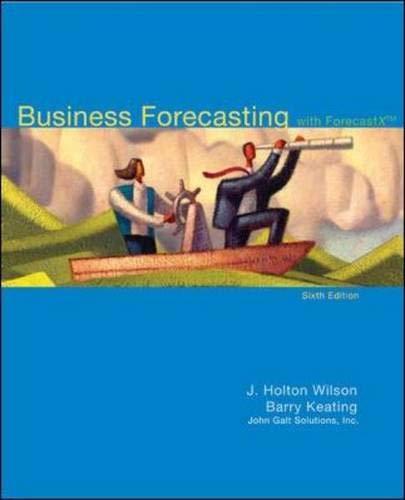 Business Forecasting with Business ForecastX