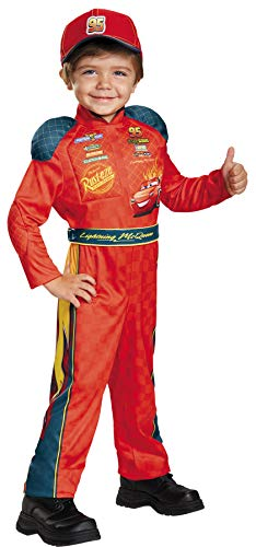 SALES4YA Toddler Lightning McQueen Toddler Costume 3T-4T]()