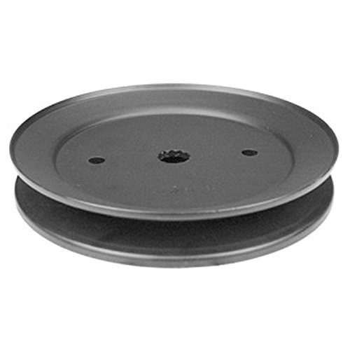 Mower Pulley (Husqvarna 532195945 Mandrel Pulley Replacement for Riding Lawn Mowers)