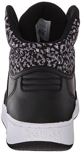 Black Fashion White VN Classic Sneaker Leopard Swiss K Mid Womens xnq0p76cwR