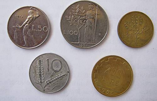 Italian Coins Lira, Coins of Italy Lire (Old Italian Coins)