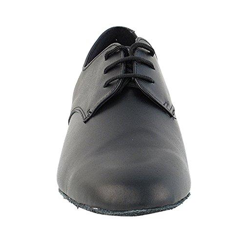 """50 Shades Of Men Standard 1 """"Heel Dance Kleid Schuhe Sammlung (Breite Breite verfügbar): Komfort Ballsaal, Standard, glatt, Latein, Salsa, Kunst von Party Party 916103 Schwarzes Leder"""
