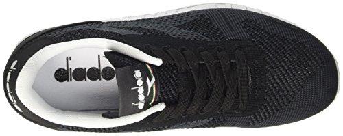 Diadora Weave Erwachsene Titan Schwarz Nero Unisex Sneaker Low Hals awUapq