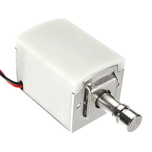 Vivona Hardware & Accessories 12V DC 1.5A Mini Electric Bolt Lock Cylindrical Sauna Cabinet Drawer Solenoid Lock