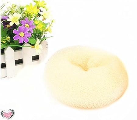 Careforyou® Mode Cheveux Donut Chignon Donut Shaper Style raides Styler Outil bigoudi 10cm MF01