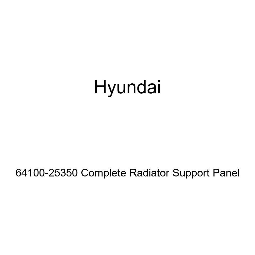 Genuine Hyundai 64100-25350 Complete Radiator Support Panel