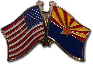 Flagline Arizona - State Friendship Pin ()