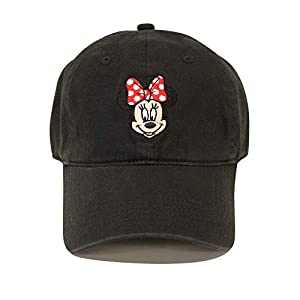 Disney  Minnie Mouse Baseball Cap, Black