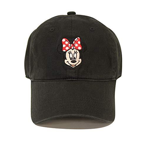 Disney  Minnie Mouse Baseball Cap, Black