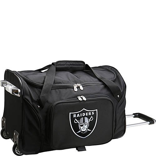 NFL 22'' Rolling Duffel Oakland Raiders by TableTop King