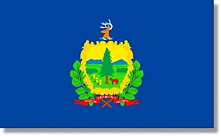 product image for 3x5' Vermont 2ply Polyester State Flag